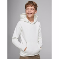 JACK & JONES Sweat Hoodie Soft White