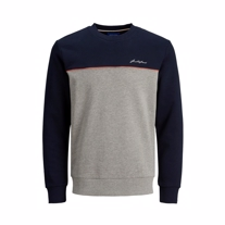 JACK & JONES Sweatshirt Pipe Navy Blazer
