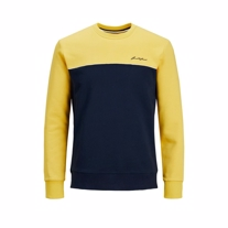 JACK & JONES Sweatshirt Pipe Spicy Mustard