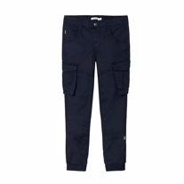 NAME IT Regular Fit Cargopants Navy