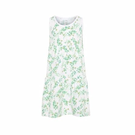 7ec960d5abdb NAME IT Vigga Spencer Kjole Grøn - Smuk og let spencer kjole fra Name It  uden