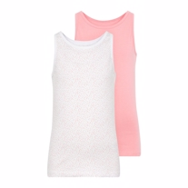 NAME IT 2-Pak Basis Tanktop Prikker