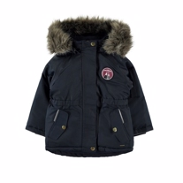 NAME IT Parka Vinterjakke Maluk Navy