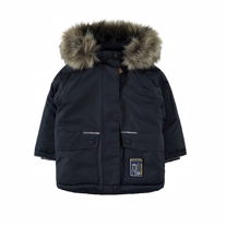 NAME IT Parka Vinterjakke Malik Navy