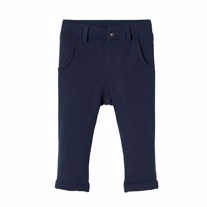 NAME IT Basis Sweatbukser Kefir Navy