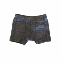 NAME IT Merinould Plain Boksershort Grå