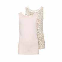 NAME IT 2-Pak Basis Tanktop Rosa Leo