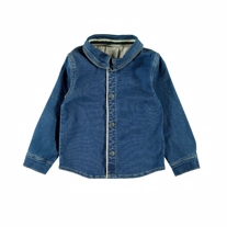 LIL ATELIER Denim Skjorte Tuna Blue