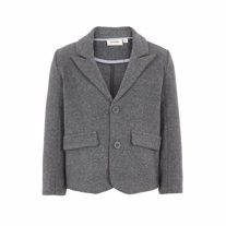 LIL ATELIER Sweat Blazer Rain Dark Grey