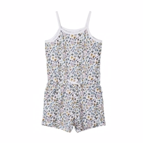 NAME IT Strop Jumpsuit Vigga Bright White Small Flowers