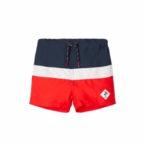 NAME IT Badeshorts Zalo High Risk Red