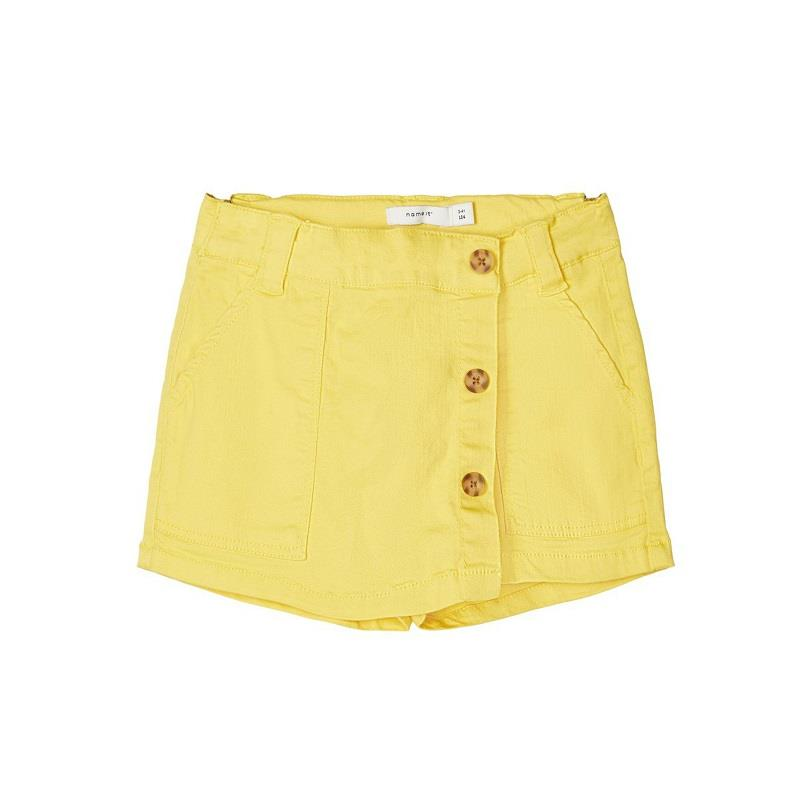 NAME IT Twillvævede Shorts Fadelle Yellow