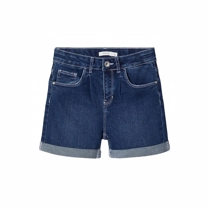 NAME IT High Waist Mom Fit Shorts Rosie