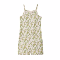 NAME IT Playsuit Vigga Potpourri Leafs