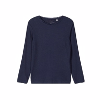NAME IT Blonde Bluse Dammi Navy