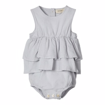 LIL ATELIER Body Dragt Gifia Grey Dawn