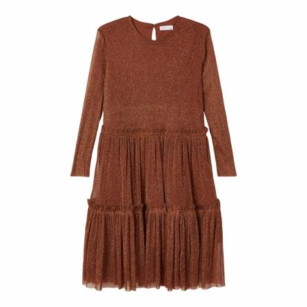 Billede af NAME IT Glimmer Kjole Ronora Monks Robe - Tøjstørrelser: 104