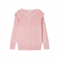 NAME IT Strikket Cardigan Fonamin Blush
