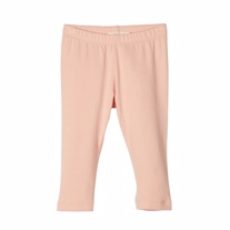 LIL ATELIER Modal Trekvart Leggings Dusty Pink