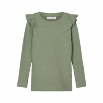 NAME IT Modal Flæse Bluse Naije Hedge Green