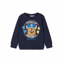 NAME IT Paw Patrol Sweatshirt Michael Navy