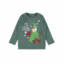 NAME IT Olaf Jule Bluse Bistro Green