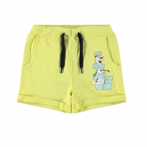 NAME IT Olaf Sweat Shorts Joos Limelight