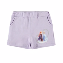 NAME IT Frost Shorts Marja Pastel Lilac
