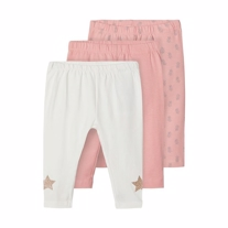 NAME IT 3-Pak Leggings Kaja Blush