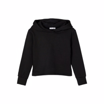 NAME IT Cropped Hoodie Fafina Black