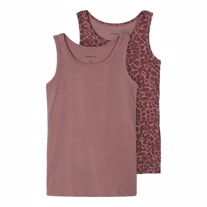 NAME IT 2-Pak Tanktop Sanny Twilight Mauve