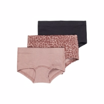 NAME IT 3-Pak Tights Sanny Twilight Mauve