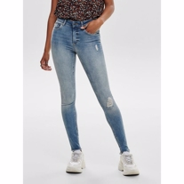 ONLY Blush Mid Waist Skinny Fit Ankel Jeans