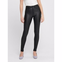 ONLY Royal High Waist Coated Skinny Fit Jeans