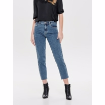 ONLY Emily High Waist Straight Fit Mom Jeans