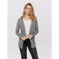 ONLY Åben Strikket Cardigan Lesly Grey