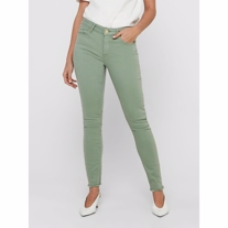 ONLY Blush Skinny Fit Jeans Green Milieu