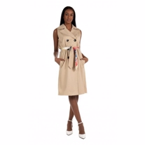 ONLY Trench Waistcoat Paula Incense