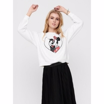 ONLY Disney Sweatshirt Valentine White
