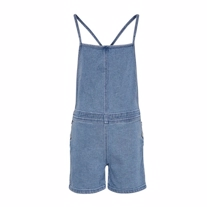 ONLY KIDS Denim Playsuit David Blue