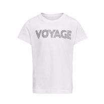 ONLY KIDS Tee Voyage White