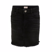 ONLY KIDS Denim Nederdel Dina Black