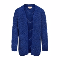 ONLY KIDS Strik Cardigan Havana Blue