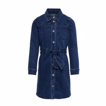 ONLY KIDS Denim Kjole Harper Blue