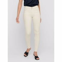 ONLY Blush Mid Ankle Skinny Fit Jeans Ecru