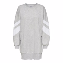 ONLY Sporty Sweat Kjole Jossa Grey