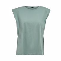 ONLY Skulderpude Tee Pernille Chinois Green
