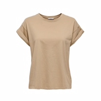 ONLY Basis Tee Silla Warm Sand
