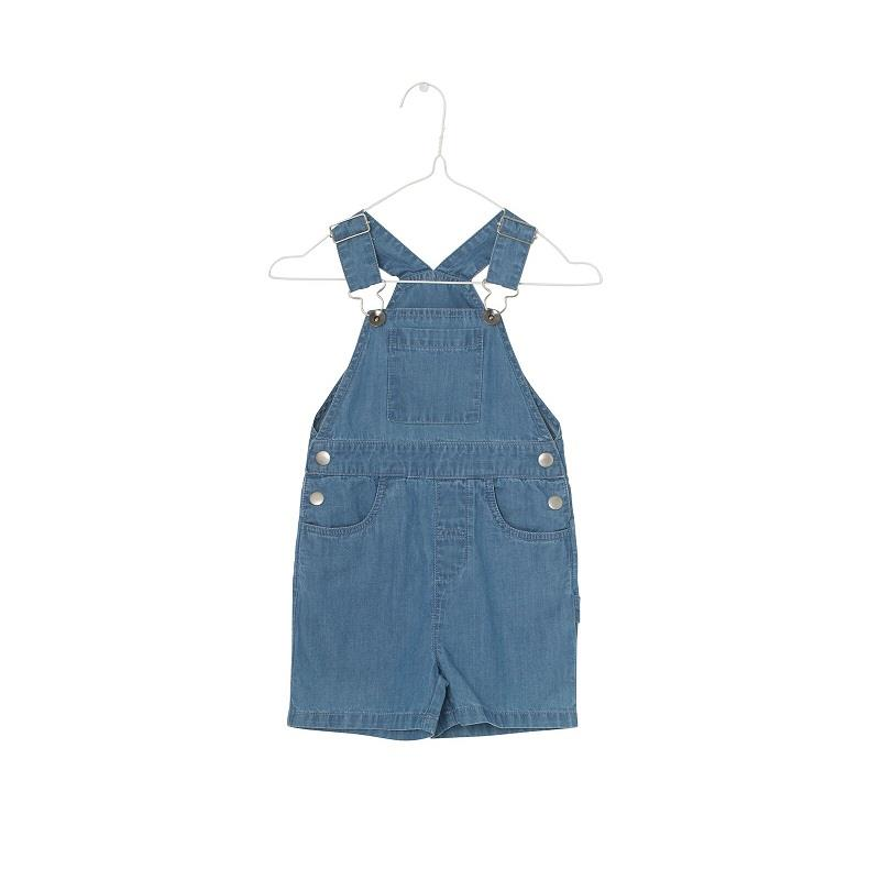 MINIATURE Denim Overalls Blue Horizon