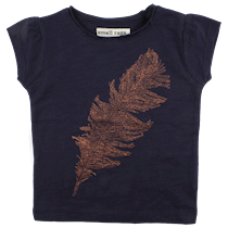 SMALL RAGS T-shirt med glimmer print